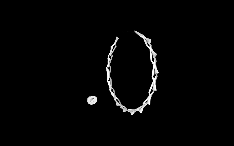 Capture d'écran 2020-05-25 à 18.37.25.png Download free STL file Earring (imitation bracelet) • 3D print design, gialerital