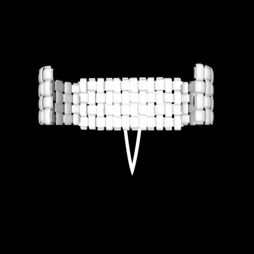 Capture d'écran 2020-05-26 à 19.33.30.png Download free STL file leather-look bracelet • Design to 3D print, gialerital