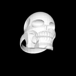 Capture d'écran 2020-05-28 à 19.44.39.png Download STL file skull ring • Object to 3D print, gialerital