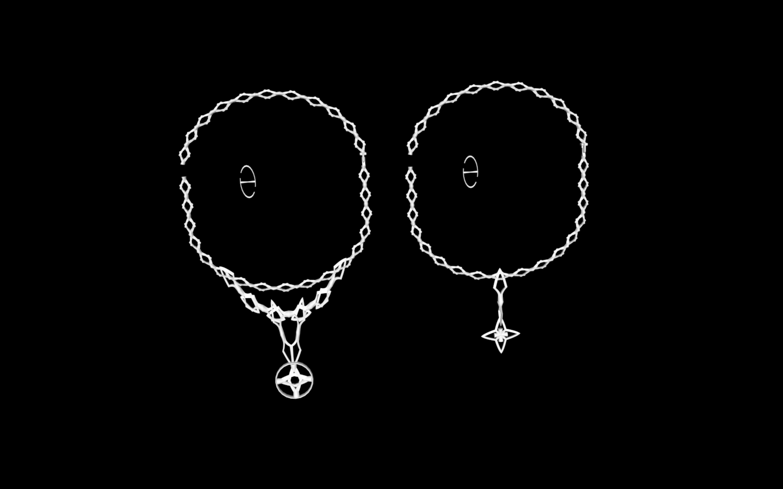 Capture d'écran 2020-05-25 à 21.59.19.png Download free STL file Star shuriken necklace and ring • 3D printing template, gialerital