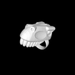 Download free STL file dinosaur ring • 3D printable template, gialerital