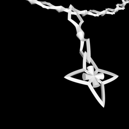 Capture d'écran 2020-05-25 à 22.00.09.png Download free STL file Star shuriken necklace and ring • 3D printing template, gialerital