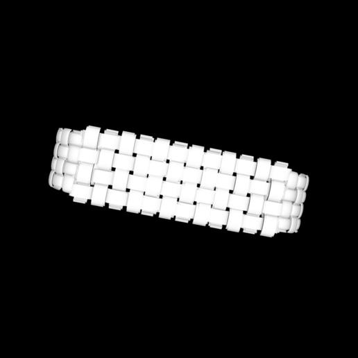 Capture d'écran 2020-05-26 à 19.24.37.png Download free STL file leather-look bracelet • Design to 3D print, gialerital
