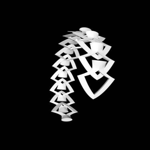 Capture d'écran bracelet 4.png Download free STL file Bracelet • 3D printing model, gialerital