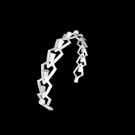 Capture d'écran bracelet 2.png Download free STL file Bracelet • 3D printing model, gialerital