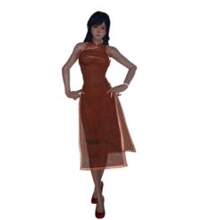 Descargar modelo 3D gratis Lynn Minmay China Dress, guilleabm83