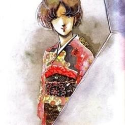 Descargar modelo 3D gratis Misa Hayase - Vestido de Kimono, guilleabm83