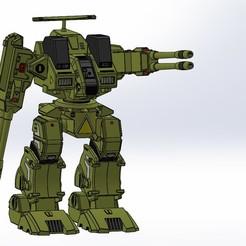 ENSAMBLAJE DESTROID12.JPG Download STL file ADR-04-Mk.X Destroid Defender • Template to 3D print, guilleabm83