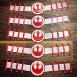 Snag_65a12b8.png Download STL file Star Wars Rebel Ear Saver Strap COVID-19 • Model to 3D print, superherodiy