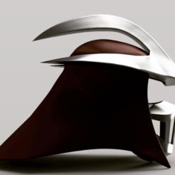 download (10).png Download STL file Shredder 1990 TMNT Costume Helmet and Mask • Design to 3D print, superherodiy