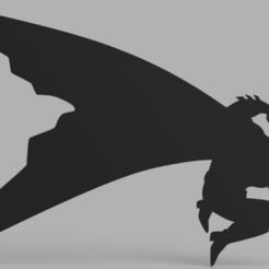 Snag_b99a464.png Download STL file Batman The Dark Knight Returns 3D Wall Art • 3D printer object, superherodiy