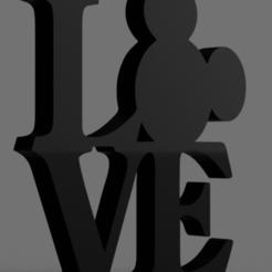 Snag_664ffe6.png Download STL file Mouse LOVE sign • 3D printable design, superherodiy