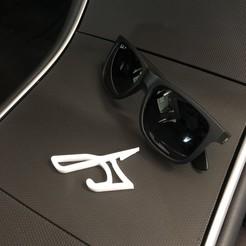 IMG_7292.jpg Télécharger fichier STL Porte-lunettes Tesla Model 3 Model Y • Modèle imprimable en 3D, superherodiy