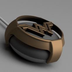 Snag_10d7ec8a.png Download STL file Wonder Woman Google Home Mini / Nest Mini cover • 3D print design, superherodiy