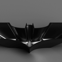 Snag_61a6b2f.png Download STL file Batman TDK Logo Candy Dish Bowl • Template to 3D print, superherodiy