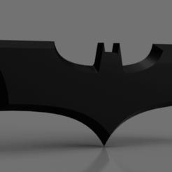 Snag_652926e.png Download STL file TDK Batarang • Object to 3D print, superherodiy