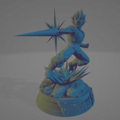 VEGETO1.png Download STL file VEGETTO , Dragon Ball • Model to 3D print, johnnydip
