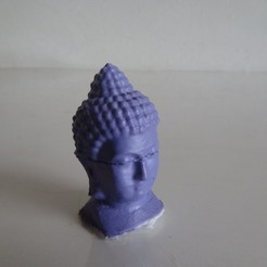 DSC00561.JPG Download STL file Buddha Head • 3D printer design, johnnydip