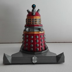 Download STL file Dalek stand • 3D printer template, johnnydip