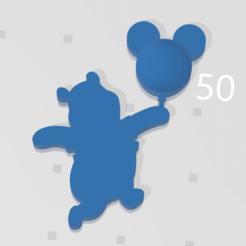 poo.png Télécharger fichier STL winnie l'ourson ballon mickey 2d • Modèle à imprimer en 3D, johnnydip