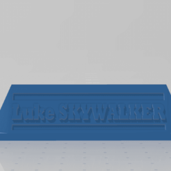 supsabre.png Download STL file Luke lightsaber holder • Model to 3D print, johnnydip