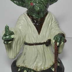 Télécharger fichier 3D Yoda fume, johnnydip