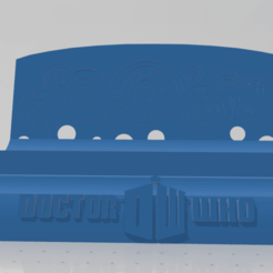 drwho1.png Download STL file Screwdriver holder Dr Who • 3D printer design, johnnydip