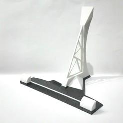 Download STL file Shelf/smartphone holder • Model to 3D print, johnnydip