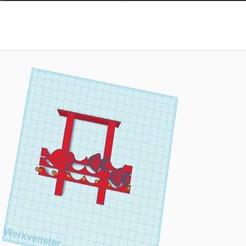 Fish coat hanger.jpg Download STL file Bathroom clothes hanger fish • 3D printable template, Knightmonkeyman