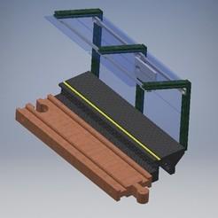 Zastávka.jpg Télécharger fichier STL Arrêt de train en bois • Objet pour imprimante 3D, Coufikus