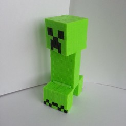 20200307_130242.jpg Télécharger fichier STL Minecraft Creeper • Objet à imprimer en 3D, Coufikus