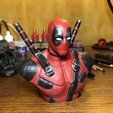 Download free STL file Deadpool Bust HD (With Supports) • 3D printable model, oOneilSs