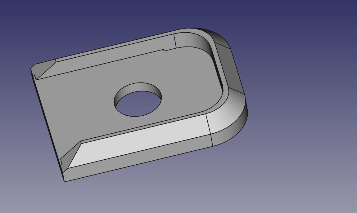 sti_pad.jpg Télécharger fichier STL gratuit STI 2011 Bloc de base standard pour magazine de 126 mm • Design à imprimer en 3D, Kema