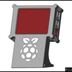 """Imprimir en 3D gratis Frambuesa Pi + 3,2"""" TFT TouchUI Terminal de pantalla para Octoprint, stefan80h"""