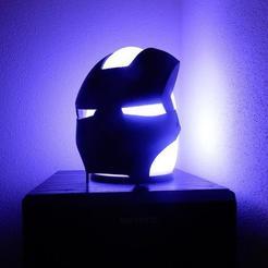 Télécharger fichier imprimante 3D gratuit Masque de l'homme de fer Couverture de la fusée éclairante Avea, stefan80h