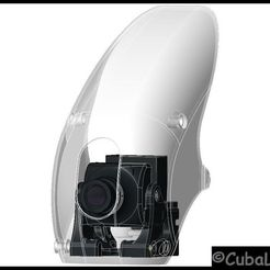 Descargar diseños 3D gratis RoboCat 270 Pitch Gimbal para HS1177 CAM, stefan80h