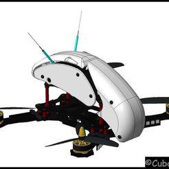 Descargar archivos STL gratis RoboCat 270 Custom Canopy, stefan80h