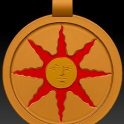 Medallón.jpg Download STL file Sunlight Medallion • 3D print object, PatxiRules