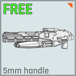 """Descargar Modelos 3D para imprimir gratis Armas de Transformación """"SENTINEL"""" (5mm post), multihawk"""