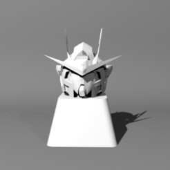 rs_01.jpg Download STL file GUNDAM RAISER KEYCAP - CHERRY MX • Template to 3D print, xelu3banh