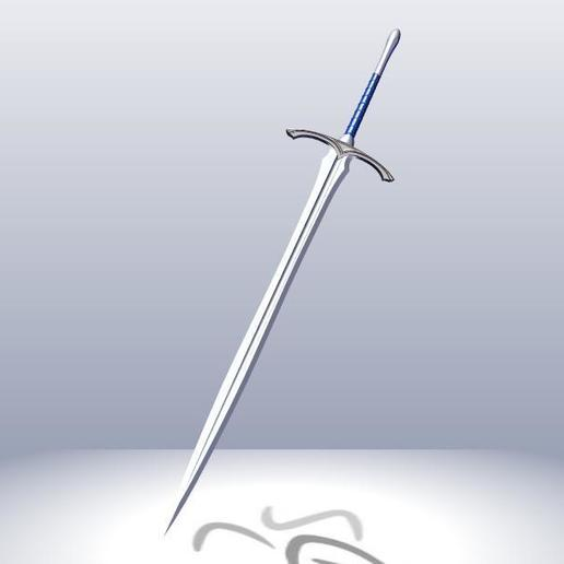 Download 3D print files Glamdring Sword, 3Agraphic