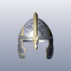 1.jpg Download STL file Helm Of Eomer • Object to 3D print, 3Agraphic