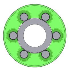 42F23219-195D-4D5F-8379-3A202AEF5DBC.jpeg Download STL file BALL BEARING 608 MK3 PRINT-IN-PLACE • 3D printer template, Aether