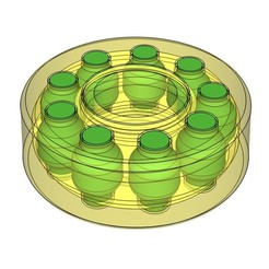 Download STL files Ball bearing 608 mk2, Aether