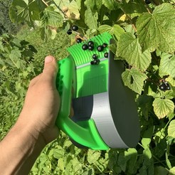 8BCFEF97-945D-4CF6-8EA8-53628824BB56.jpeg Télécharger fichier STL Cueilleuse de baies, peigne à baies, cueilleuse de baies, cueilleuse de baies à main, outils de jardin, hack de jardin, cueilleuse de myrtilles, cueilleuse de baies à impression 3D, cueilleuse de jardin • Design imprimable en 3D, Aether