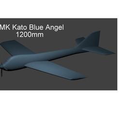 Download STL file MK Kato Blue angel 1200mm , 3D_Aeroworks