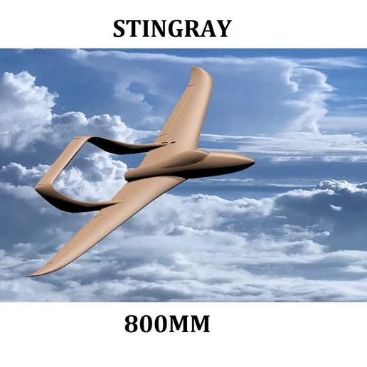 Download 3D model STINGRAY 800MM PUSHER , 3D_Aeroworks