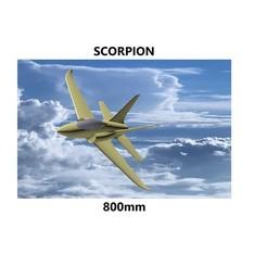 Download STL file Scorpion 800mm pusher jet , 3D_Aeroworks