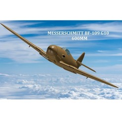 Fullscreen capture 13092020 75730.jpg Download STL file Messerschmitt  BF-109 G10  • 3D printable object, 3D_Aeroworks