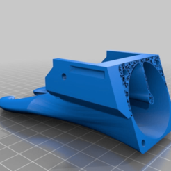 b49a7bc139a5d576dea3e8e342bceb75.png Download free STL file Cocoon Create Touch / Wanhao i3 plus reverse fan duct • Template to 3D print, CartesianCreationsAU